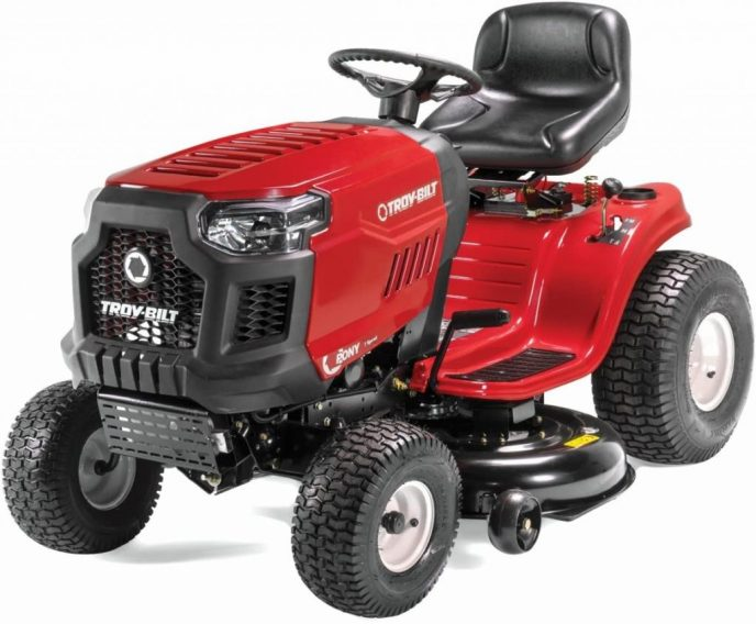 Best Lawnmower For 5 Acre Lot- Troy- Bilt Pony Riding Lawn Mower