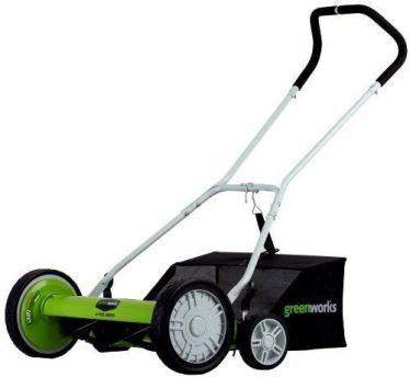 Best Reel Lawn Mower - Greenworks 18 inch Reel Lawn Mower