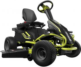 Best Lawn Mower For 3 Acres - Ryobi 38 inches Riding Lawnmower