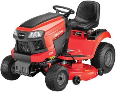 Best Lawn Mower For 3 Acres - Craftsman T225 Riding Lawn Mower
