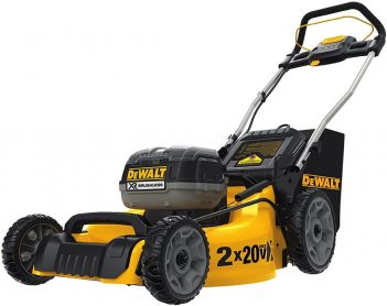 Best Lawnmowers For 1/2 Acre Lot-DEWALT DCMW220P2 Lawn Mower