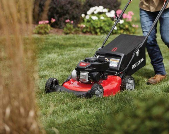 best gas lawnmowers