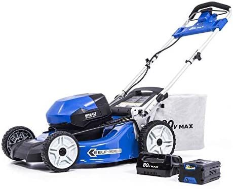 Kobalt 80-Volt Max Self-Propelled Electric Lawnmower