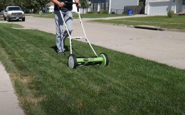 reel lawnmower reviews