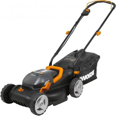 Best Self Propelled Lawn Mower - WORX WG779 40V