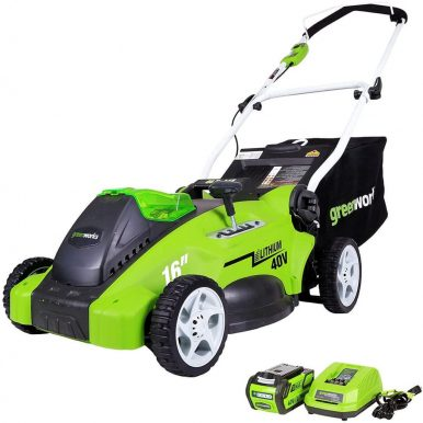 Best Lawnmowers For 1/2 Acre Lot - Greenworks 40V 20-Inch Cordless Lawn Mower