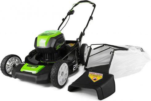 Best Self Propelled Lawn Mower-Greenworks G-Max 40V 16