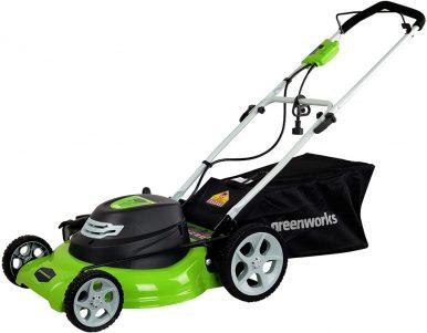 Best Electric Lawn Mower Under $300-Greenworks Corded Lawn Mower