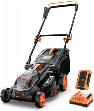 5 Best Electric Lawn Mower Under $300-Cordless Lawn Mower by DSF