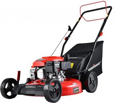 Best Gas Lawn Mower Under $300-PowerSmart Lawn Mower with Adjustable Cutting Heights