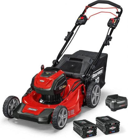 Five Best Electric Lawnmowers to Buy in the USA - Snapper 1687914 Battery Powered Electric Mower